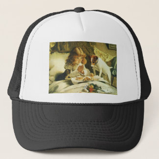 Saying Our Prayers, Suspense Charles Burton Barber Trucker Hat