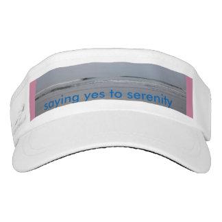 saying yes to serenity visor