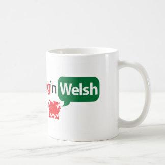 SaySomethinginWelsh Basic White Mug