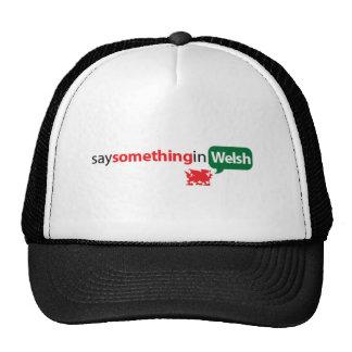 SaySomethinginWelsh Cap