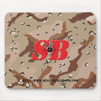 SB Camo Mouse Pad