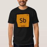 Sb - Sorbet Chemistry Periodic Table Symbol Tshirts