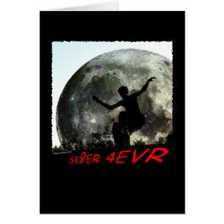 SBA102.SK8ER 4EVR. GREETING CARD