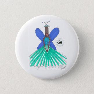 SBM Pseudo Celeb Green/Blue Ballgown Fashion Pin