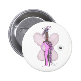 SBM Pseudo Celeb Pastel Purple Feather Fashion Pin