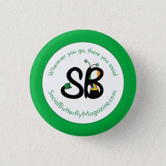 SBM St. Patrick's Day Logo Mini Button Pin