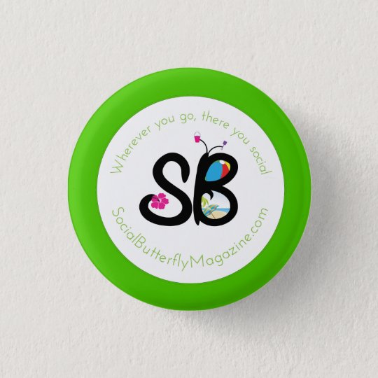 SBM Summer Logo Mini Button Pin