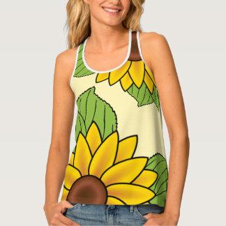 SBM Sunflower Tank Tank Top