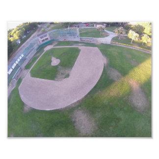 SC Baseball Field Aerial Art Photo