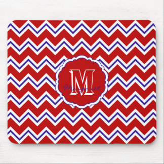 SC Chevron Mouse Pad-Red,White and Blue