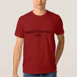 SC COLLEGE LIFE HASH TAG TEE