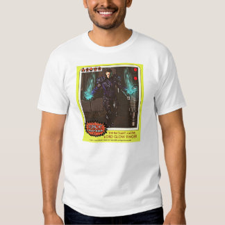 sc-fi trading card on your shirt. t shirts