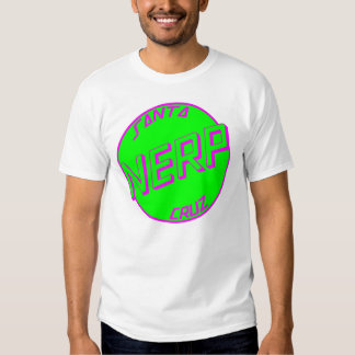SC Green Nerp White Tshirt Front Logo