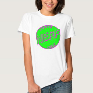 SC Green Nerp White Womens Tshirt Front Logo
