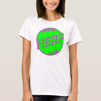 SC Green Nerp White Womens Tshirt Front Logo
