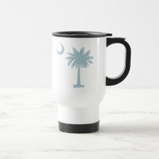 SC Palmetto & Crescent (CB) Travel Mug