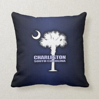 SC Palmetto & Crescent (Charleston) Cushion
