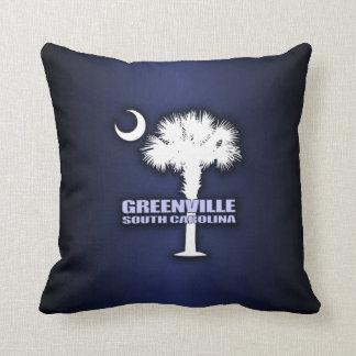 SC Palmetto & Crescent (Greenville) Cushion