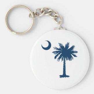 SC Palmetto & Crescent Key Ring