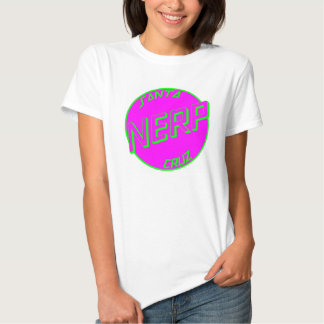 SC Pink Nerp White Womens Tshirt Front Logo