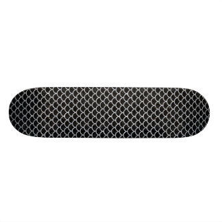 SCA1 BK-GY MARBLE 20 CM SKATEBOARD DECK