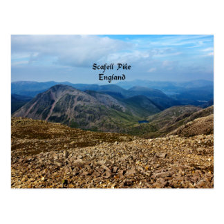 Scafell Pike, England Postcard