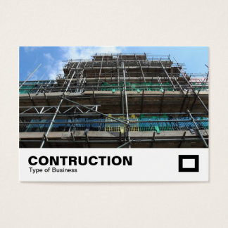 Scaffolding Business Card