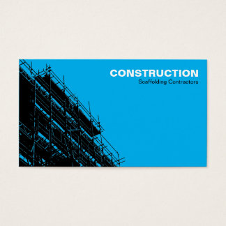 Scaffolding HC - Blue Business Card