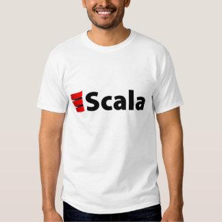 Scala Shirt, Black Logo Tee Shirt