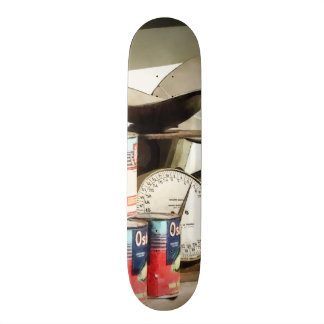 Scale and Canned Goods Skate Decks