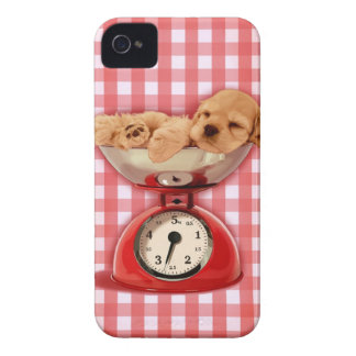 Scale cocker spaniel iPhone 4 cover