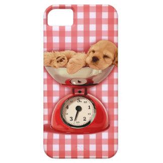 Scale cocker spaniel iPhone 5 cases