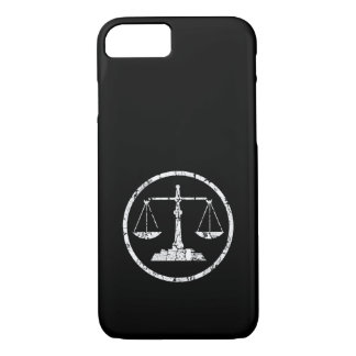 Scale, Distressed iPhone 8/7 Case