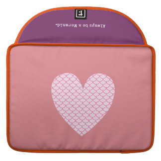Scale Heart Mac Book Pro Sleeve
