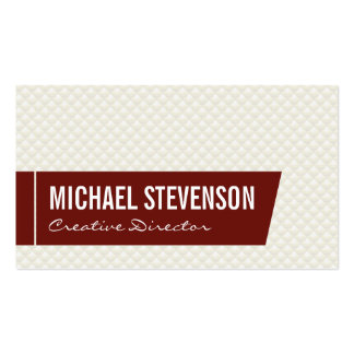 Scale Pattern Pack Of Standard Business Cards