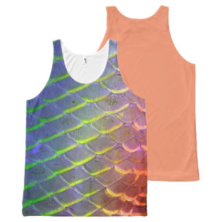 scale tanktop All-Over print tank top