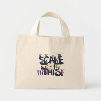 Scale-This-Bag Mini Tote Bag