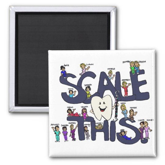 Scale-This-Magnet Square Magnet
