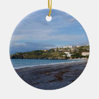 Scalea Beach, Calabria Christmas Ornament