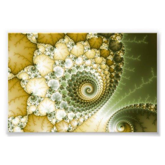 Scales Fractal Art Photo Print