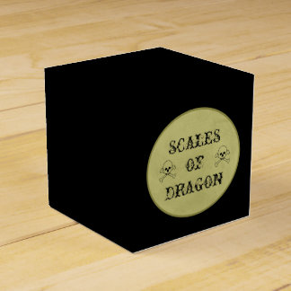 Scales Of Dragon Label Halloween Potions Spells Party Favour Box