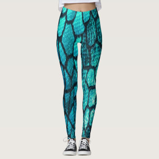 Scales of Fashion Leggings in Beached