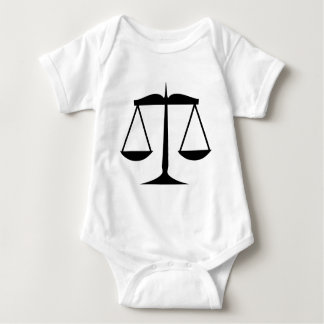 Scales of Justice (Law) Baby Bodysuit