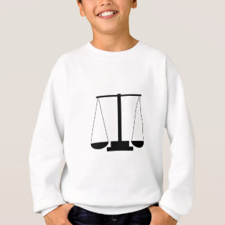 Scales of justice sweatshirt