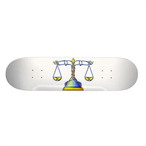 Scales Skate Board