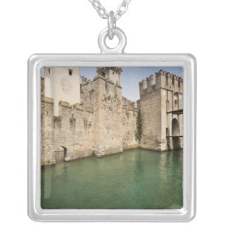 Scaliger Castle, Sirmione, Brescia Province, Silver Plated Necklace