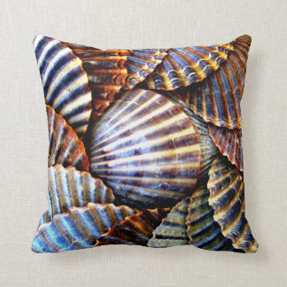 Scallop Seashell Pillow