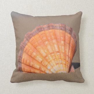 Scallop Shell| Crete, Greece Cushion