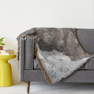 Scallop Shell Fossil Throw