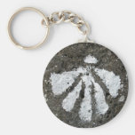 Scallop Shell Keychain
